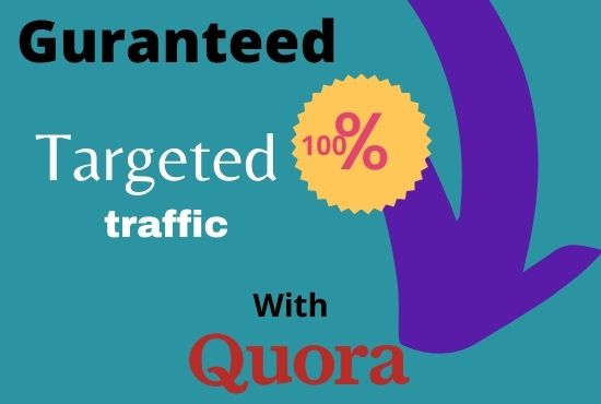 I will Give you 20 Guaranteed Quora Answer posting