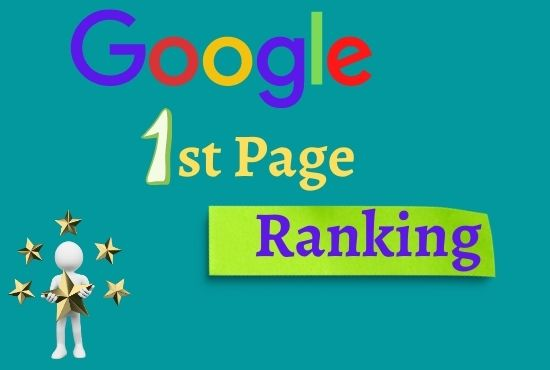 I will Offer you guaranteed Google 1st-page ranking with best linkbuilding service.