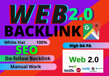 30 Web2.0 High Authority Permanent Contextual Backlinks unique link building