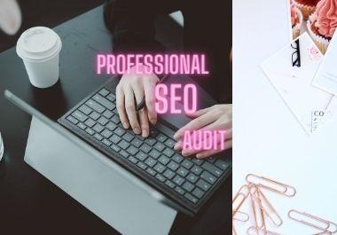 I will make a full SEO audit on your website