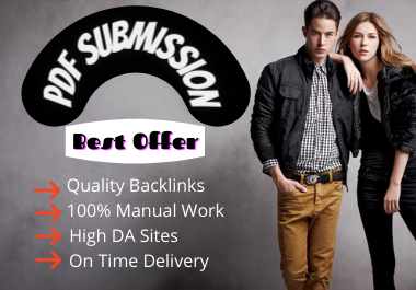 PDF submission do-follow backlinks to 30 high PR slide sharing sites