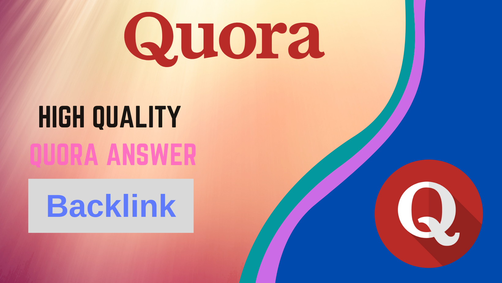 Promote your Site with 20 Quora Answers in targeted Traffic