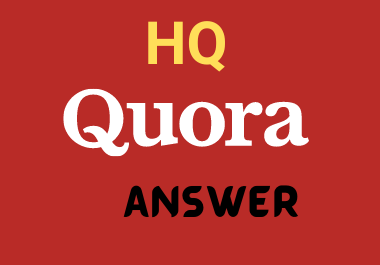 Promote your Website with 10 Quora Answers in targeted Traffic Guaranteed
