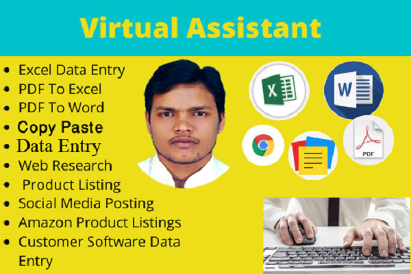 I will do data entry,  file conversion and copy paste work for you
