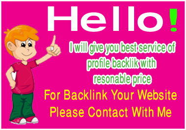 I will create manually 80 profile backlinks from high quality backlink site with a reasonable price