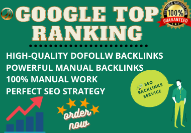 I will build ultra SEO contextual backlinks for google 1st page ranking