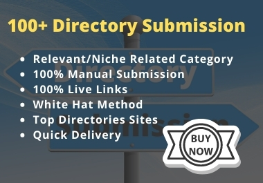 100+ Manually Directory Submission on Relevant Category PR3 up to PR9