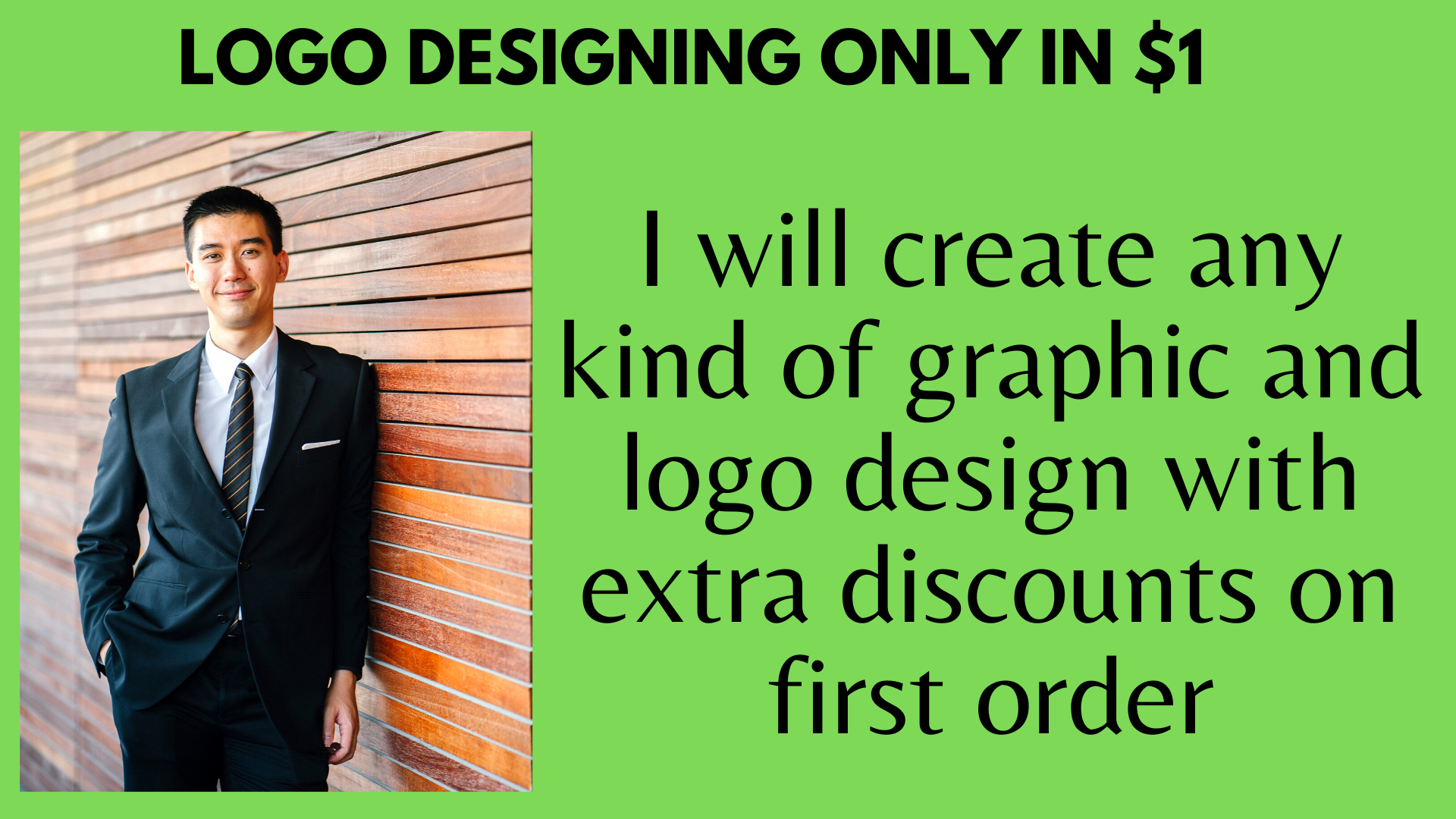 I will give cheapest and responsive minimalist logo with extra discount on first order