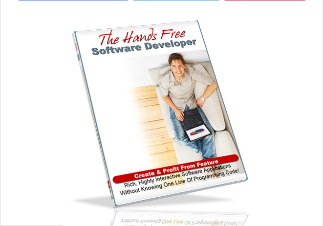 The Hands-Free Software Develop-Easy Selling Software Without Coding and Programming.