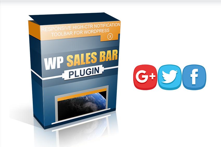 WP Sales Bar Plugin &ndash Get it and make money FAST