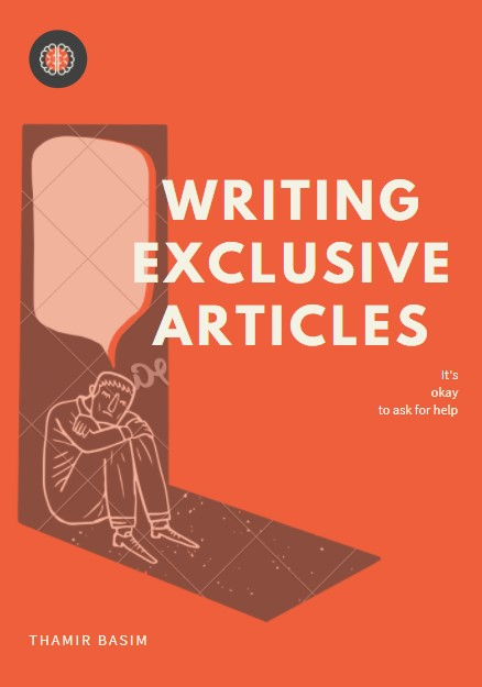 Writing exclusive articles for any topic you want.