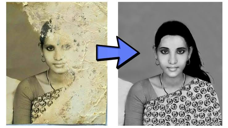 I will old photo restoration, colorize, fix damage, retouching professionally for you