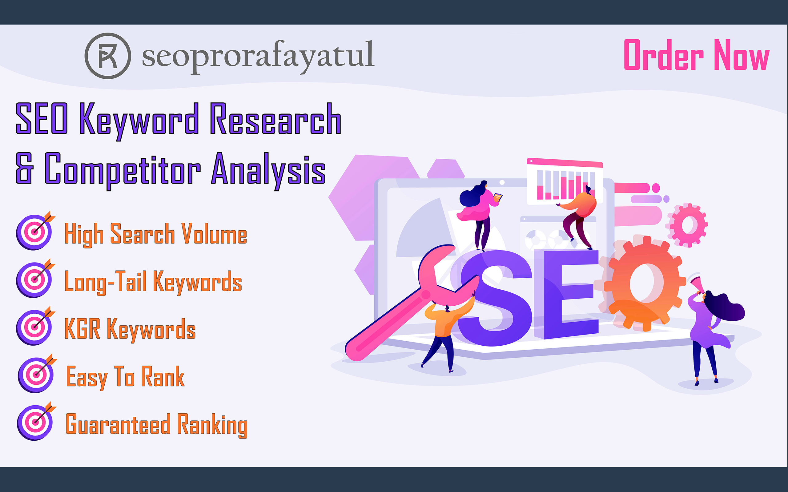 Get profitable keyword research with competitor analysis