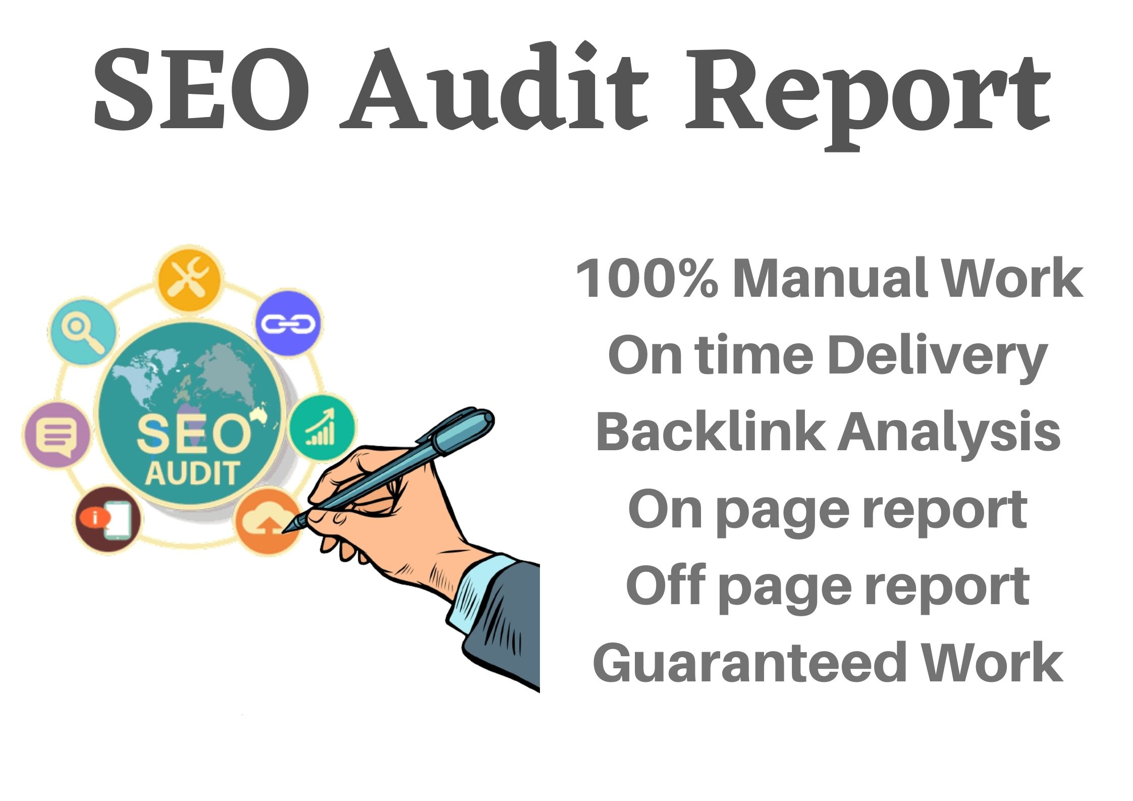 I will do audit your website with competitor analysis