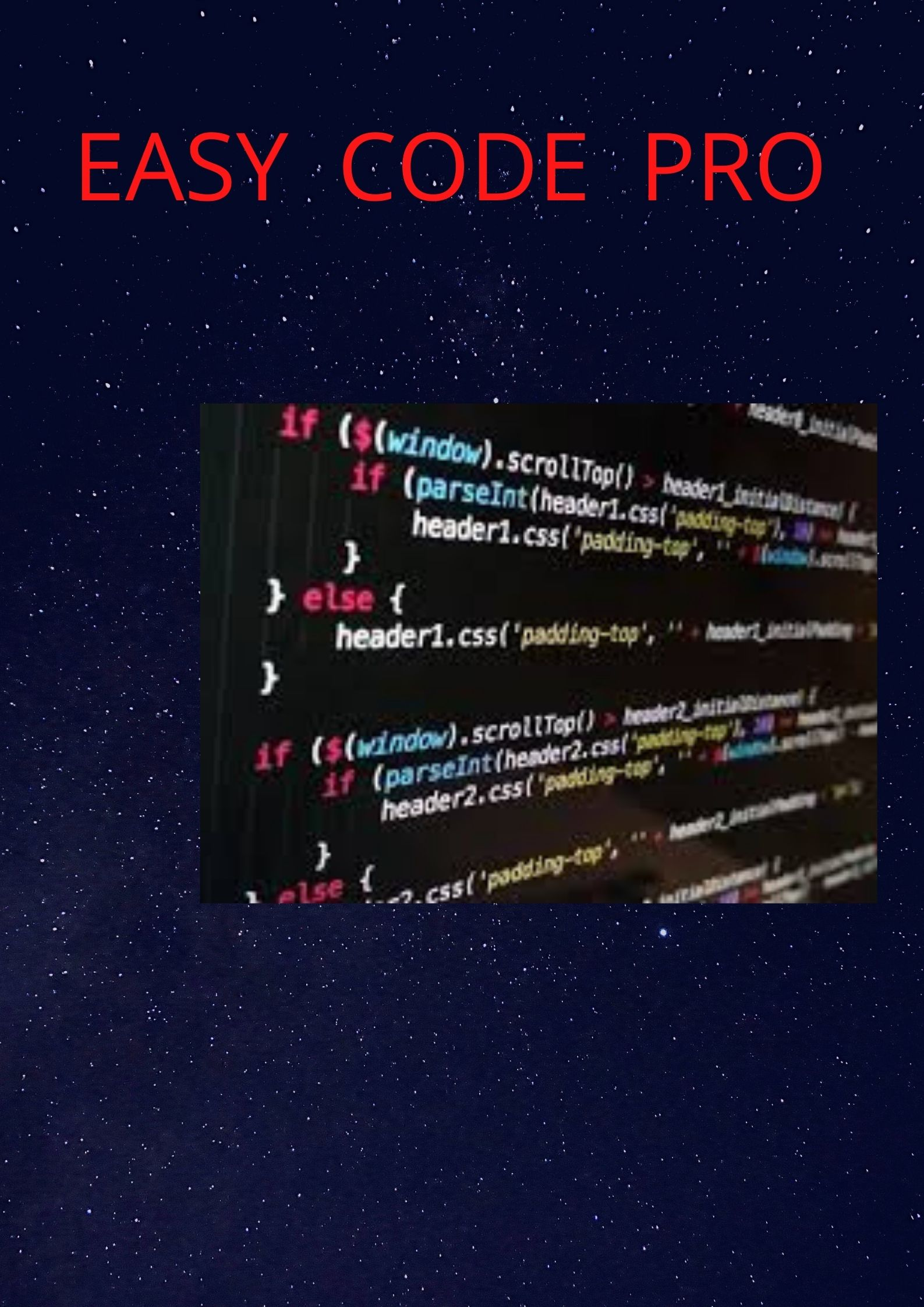 Easy code pro for analytic your website.