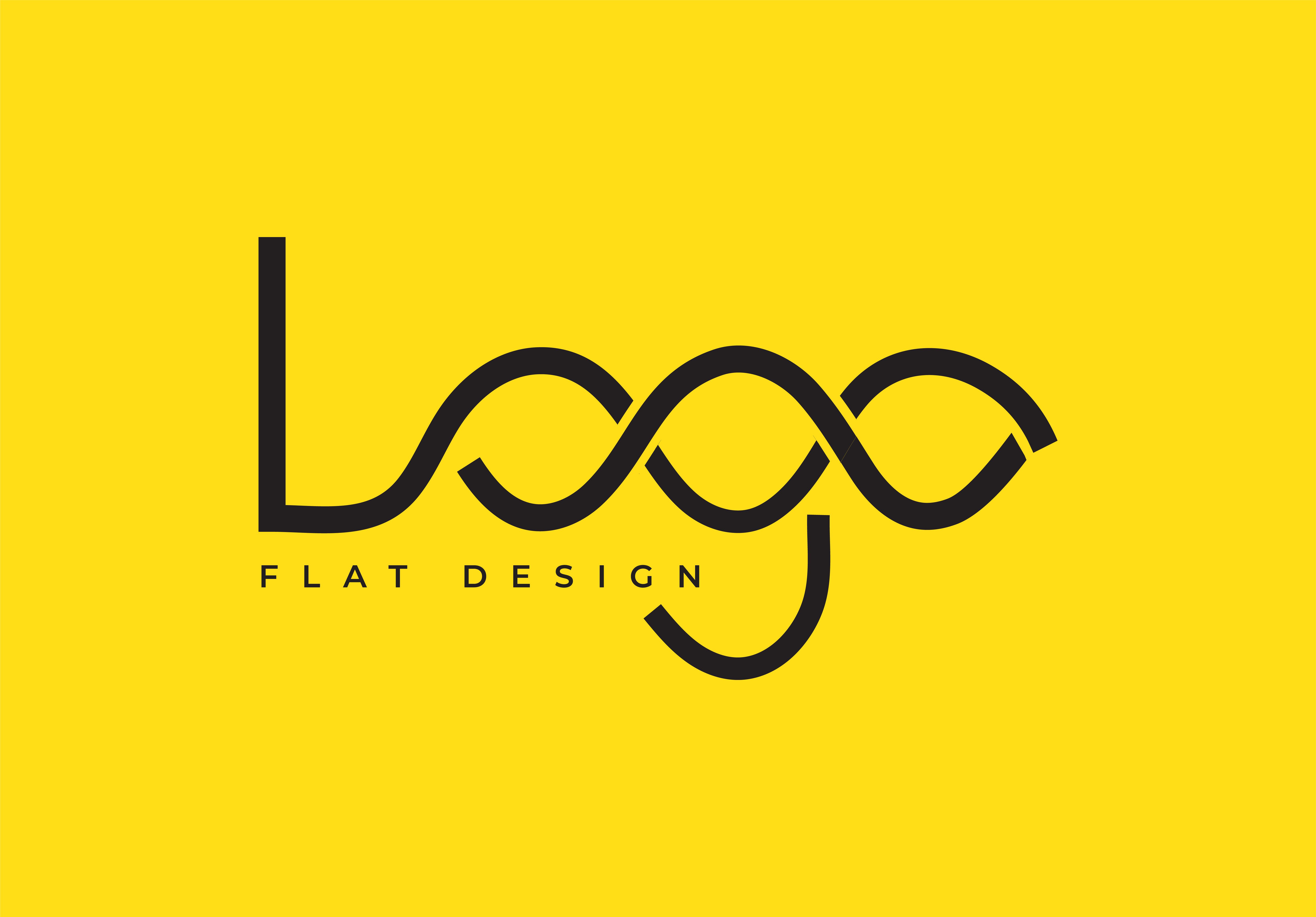 I will do clean and modern minimalist logo design
