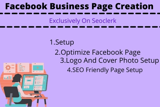 I'll do Facebook page creation and site setup for you.