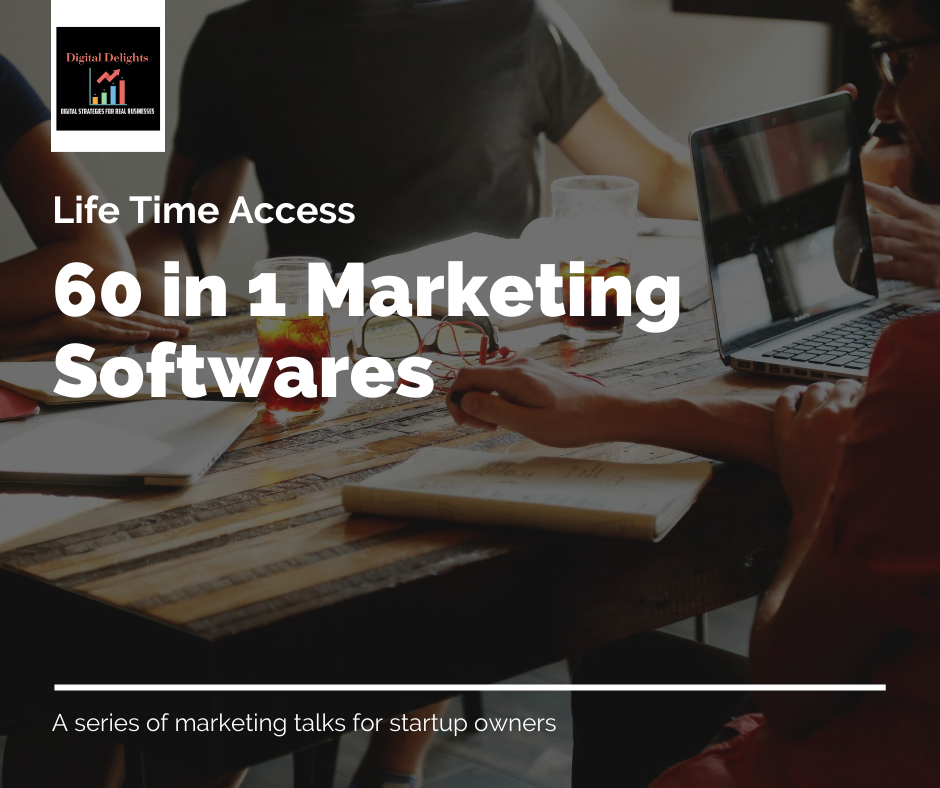 60 in 1 Marketing Softwares life time access