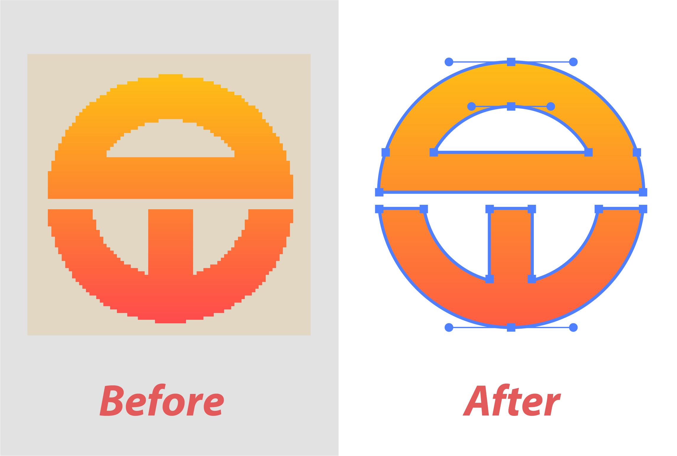 I will manually vectorize,  trace any logo, image to vector