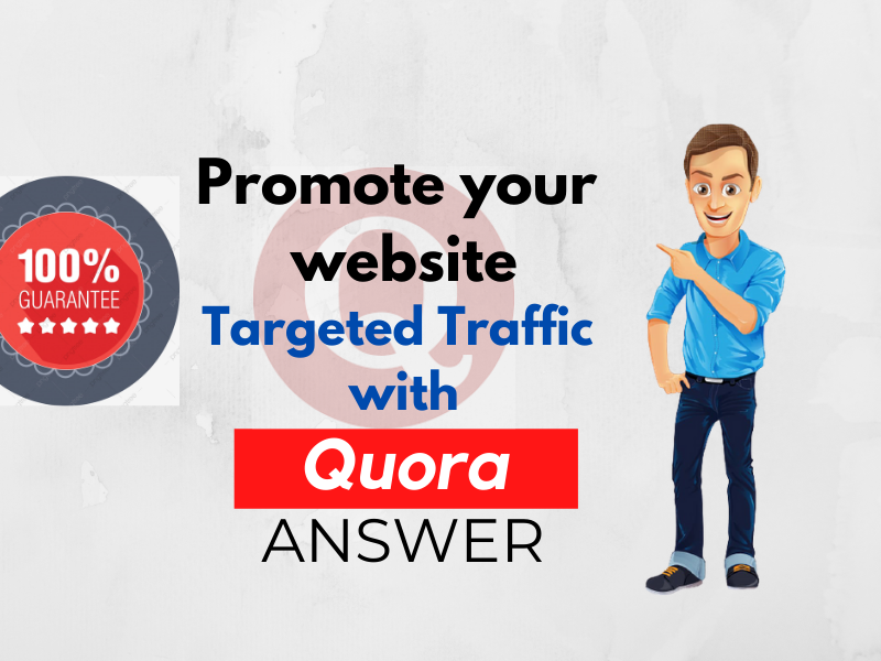 Give Guaranteed Niche Relevent Traffic with 15 Quora Answers