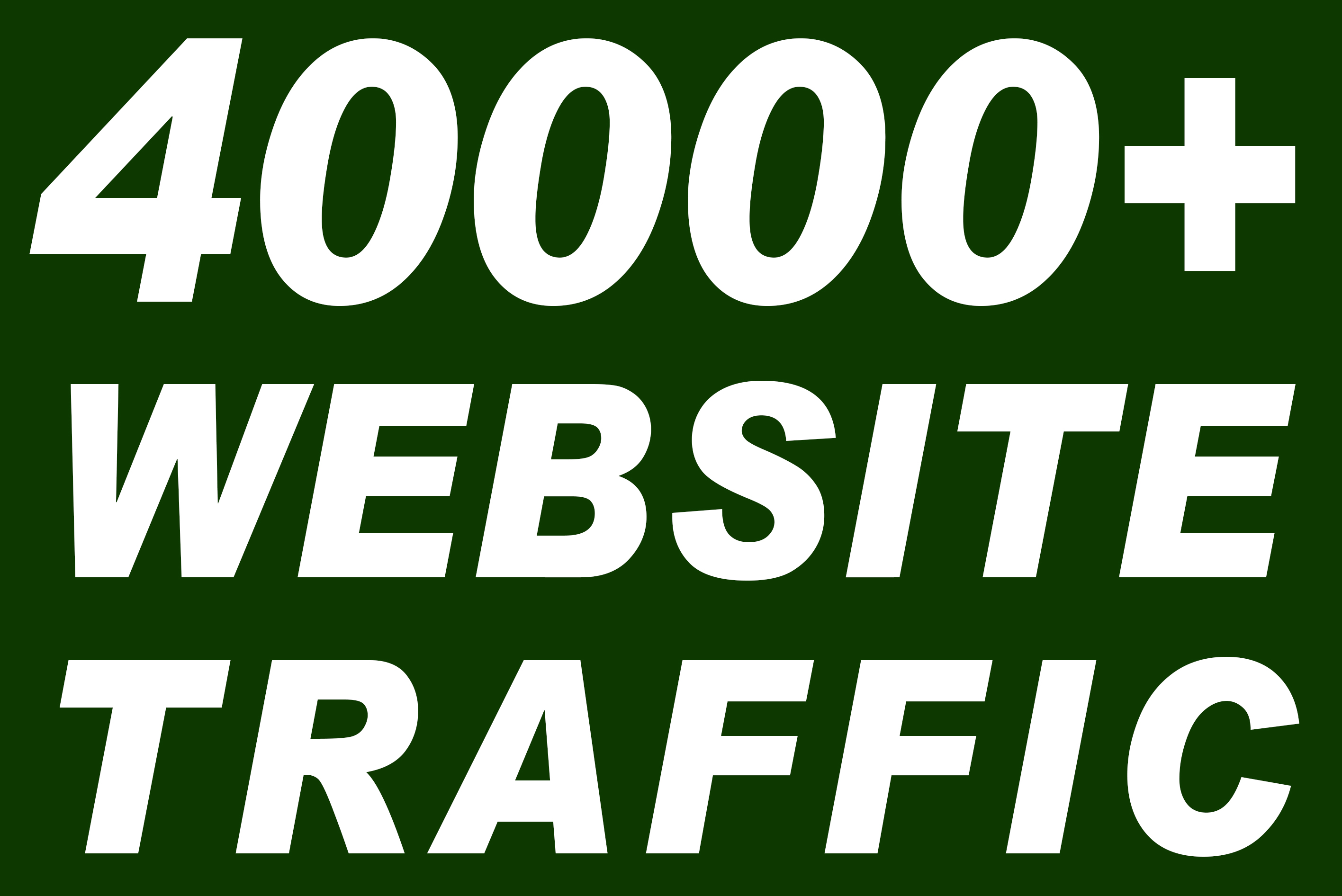 I will send 40000+ real active human visitors from google, yahoo, bing etc