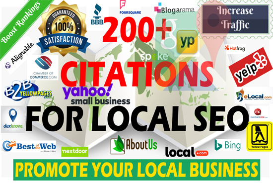 Create 15 any country live google map Local citations for local Business