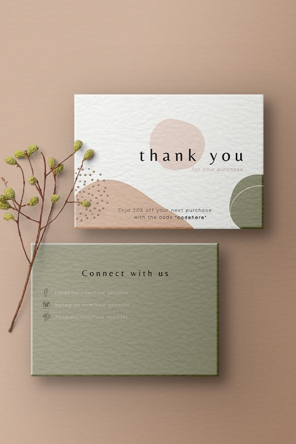 Professional and high quality personal card design
