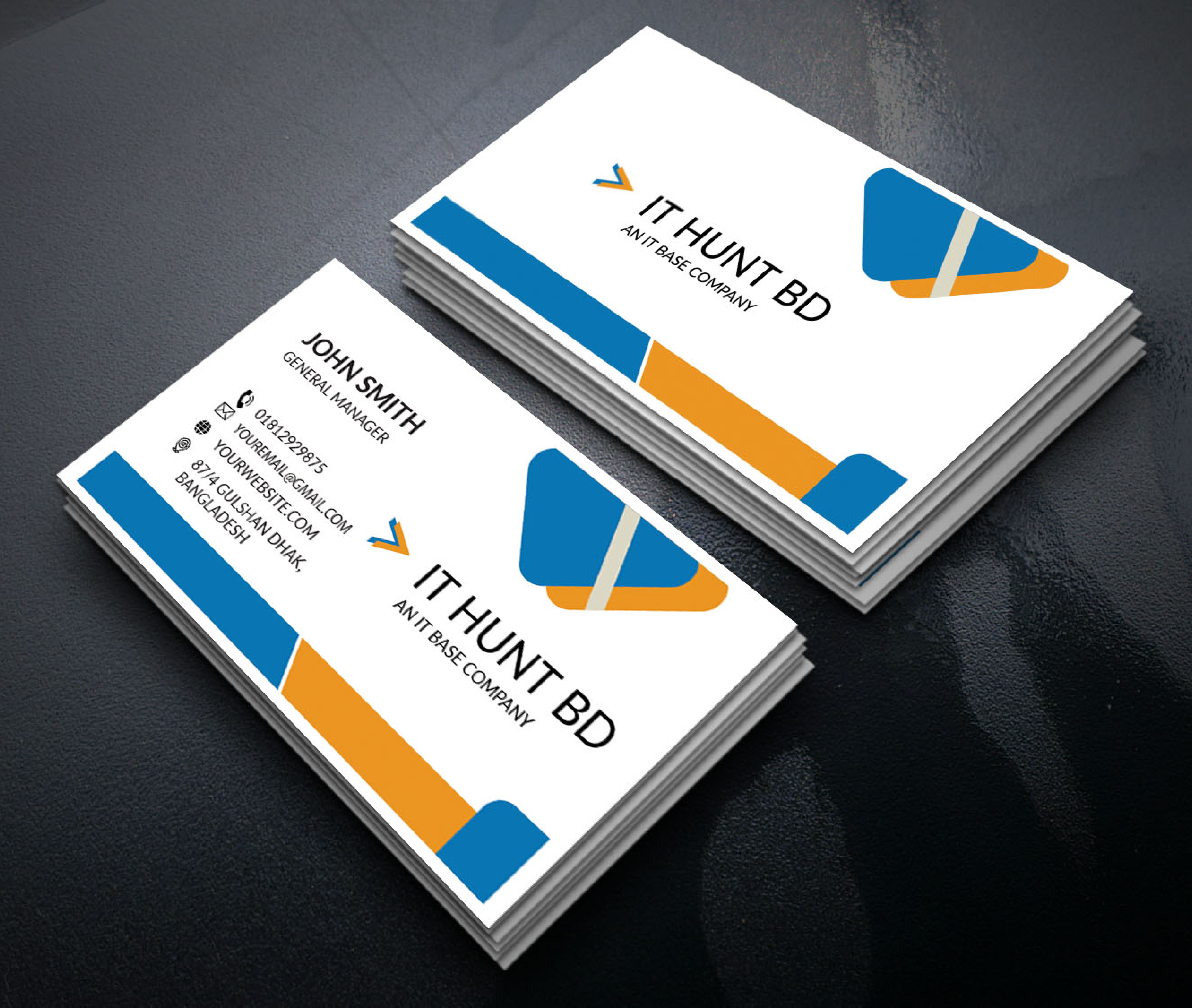 I will do design business card for your business