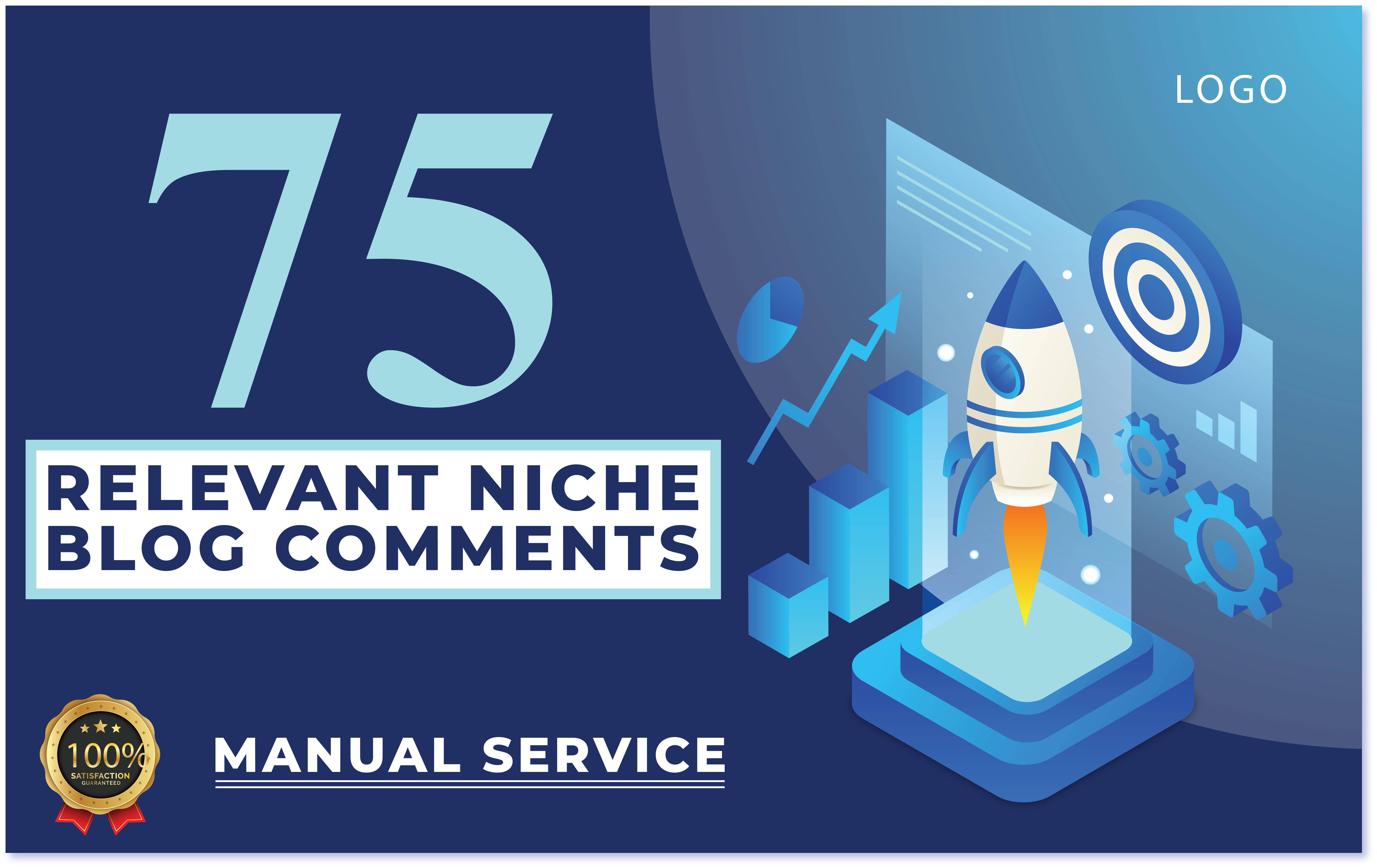 i wiil do 75 niche relevant blog comment backlinks