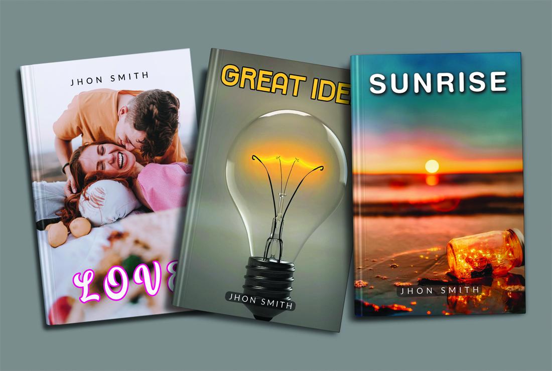 I will creat unique amazon KDP book cover and ebook cover design