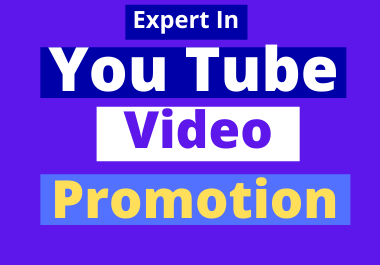Get You Tube Video Promotion Perfectly