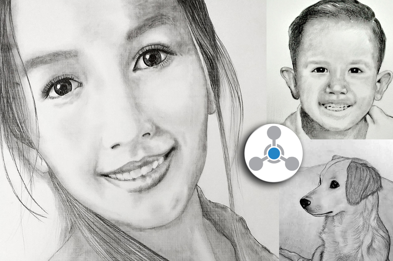 I will draw a realistic sketch portrait from your photo