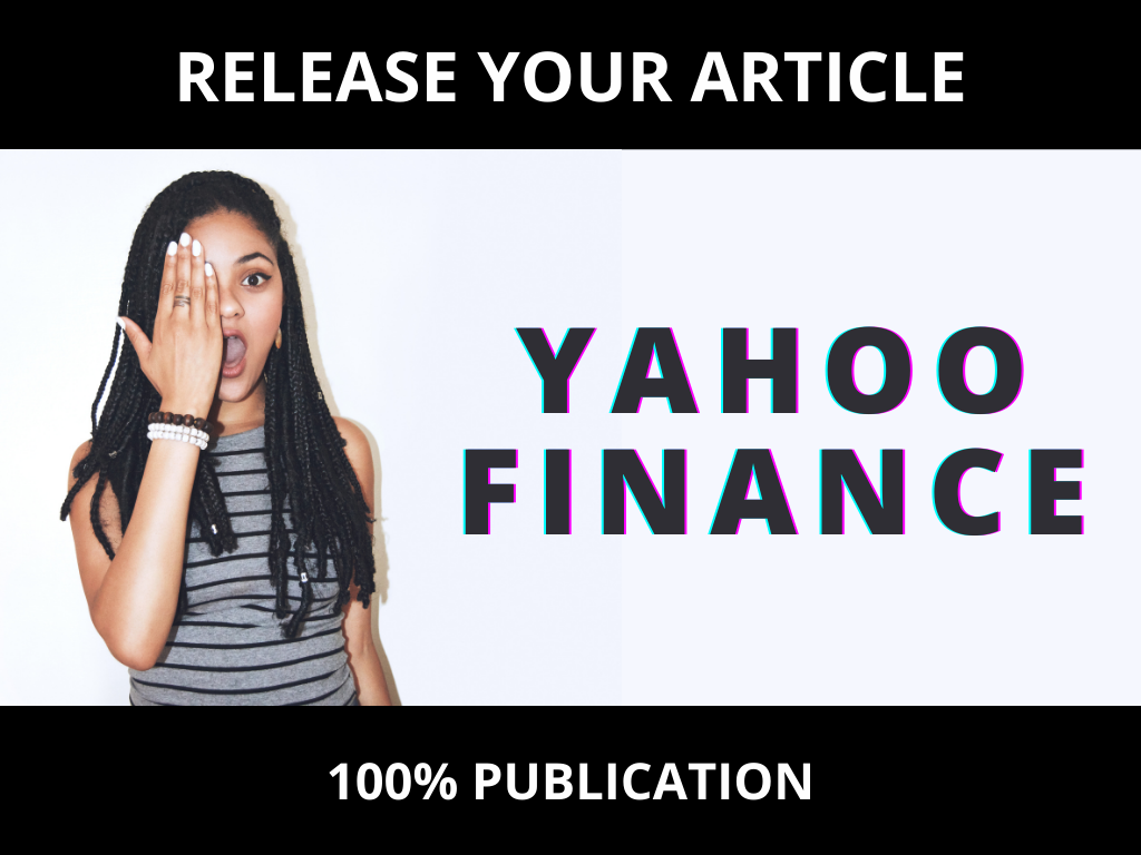 I will write and release on yahoo news