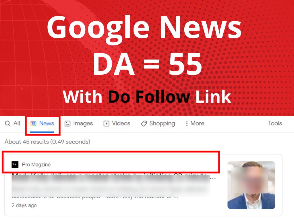 Guest post on top google news website