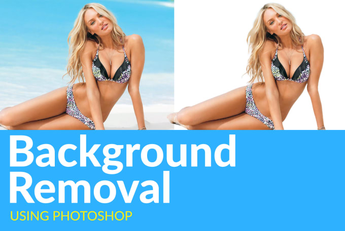 I will remove background or do clipping path of 4 photos