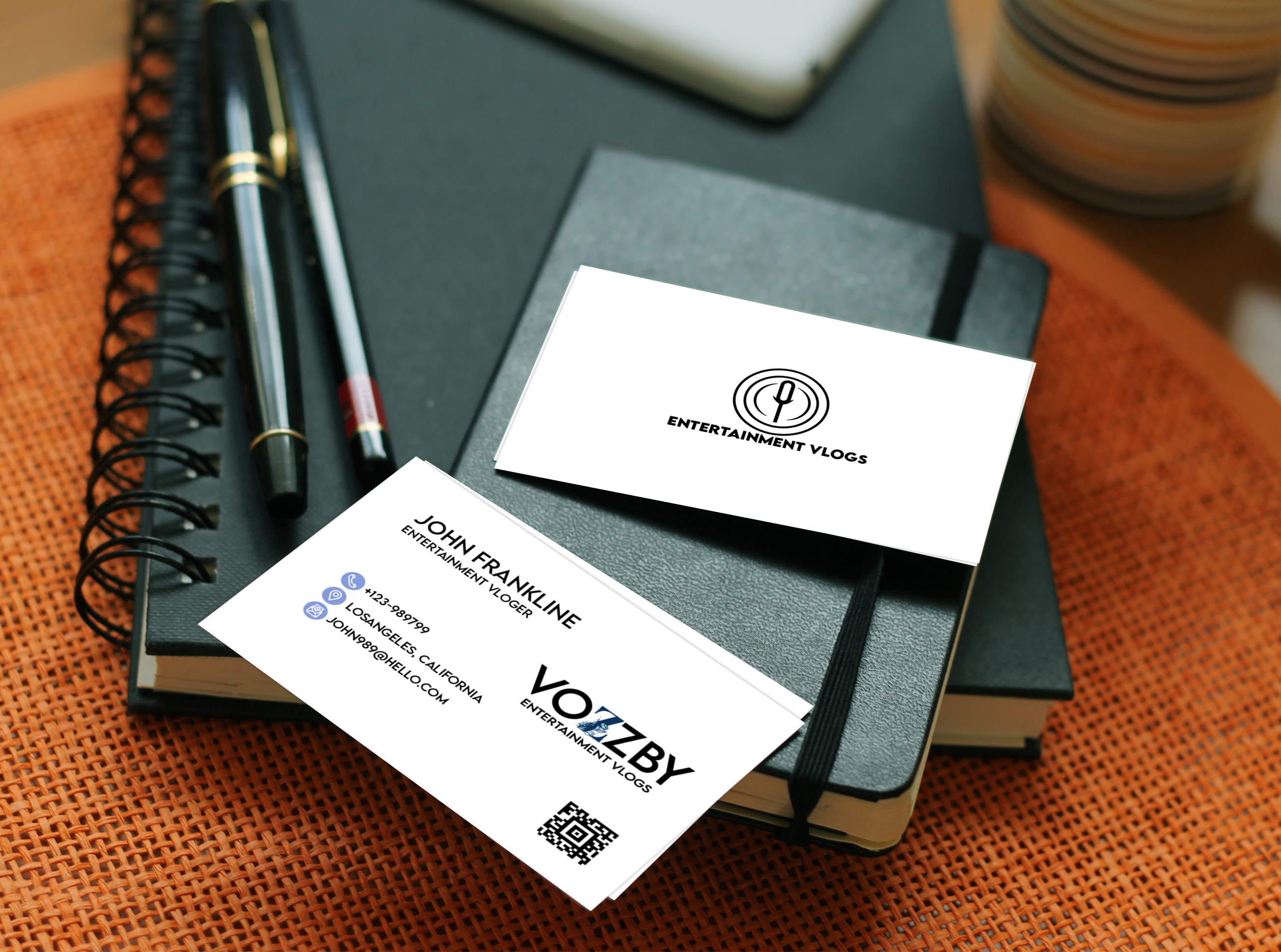 I will design professional and elegant business cards design