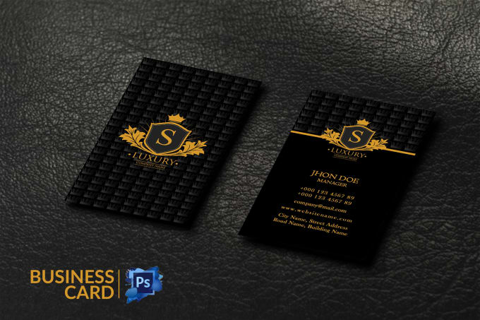 I will do attractive custom business card design for you