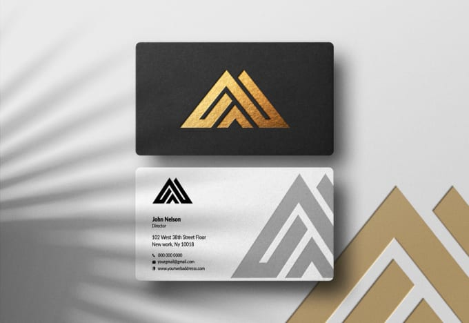 I will do business card design and minimalist logo design for you