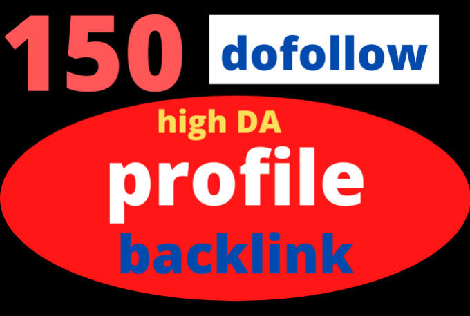 I will provide 100 do follow profile backlinks