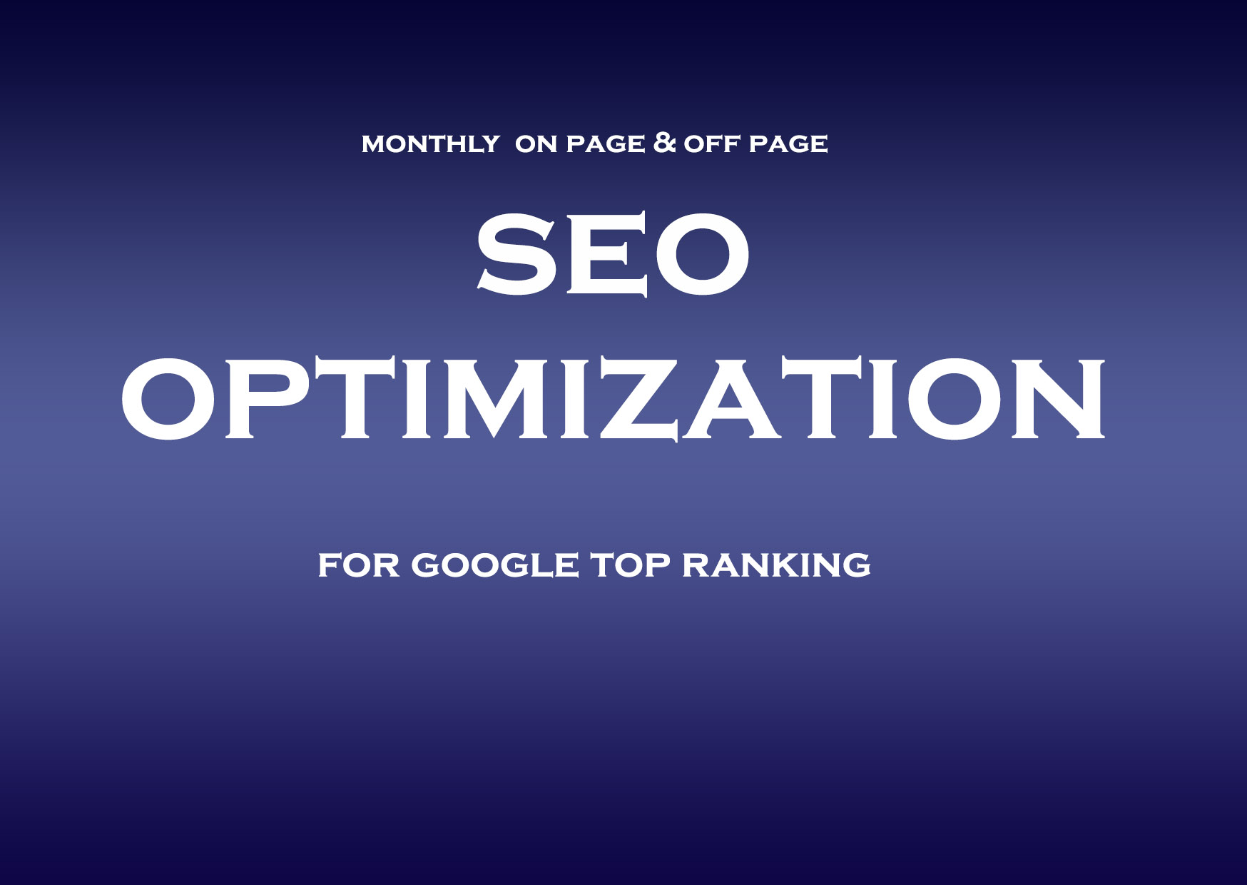 Rank your WordPress site with monthly complete seo optimization service,  high quality backlinks