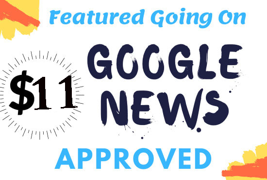 I will do guest post on DR 61 google news approved website