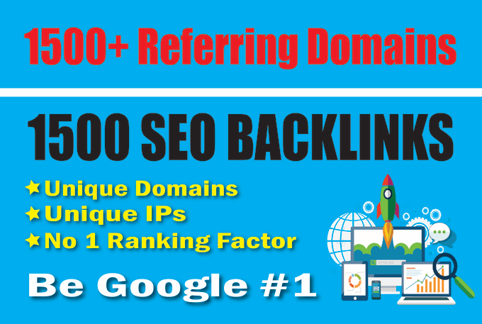 I will build referring domain backlinks to rank your website