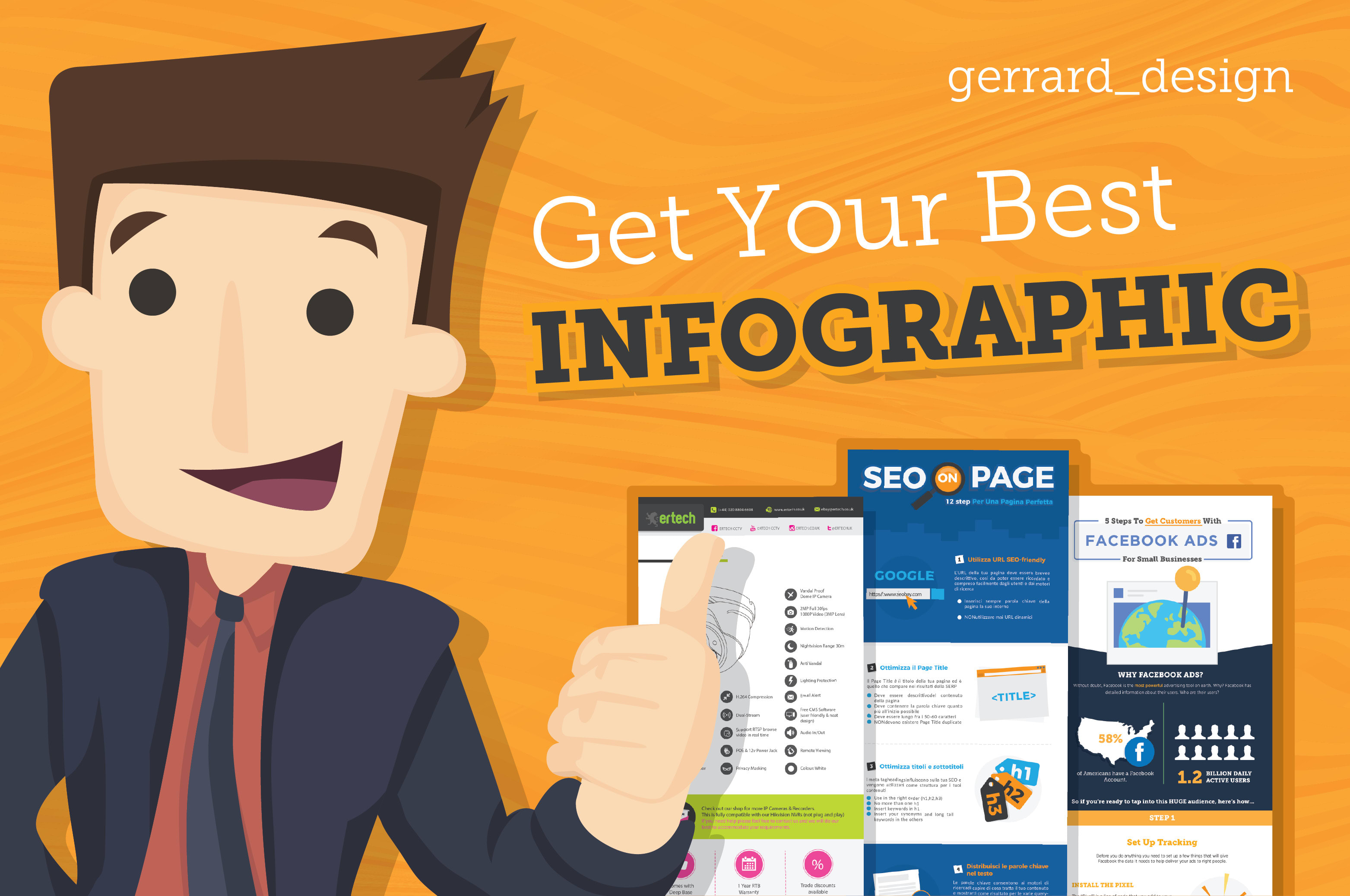 I will create an awesome infographic in 72 hours