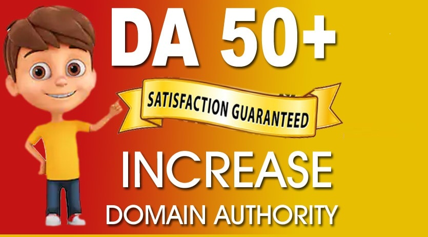Increase Moz Domain Authority Increase DA PA 50+ URL Rating Guarantee