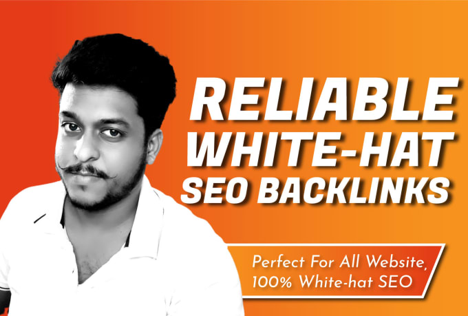 I will create white hat reliable SEO backlinks to improve website ranking