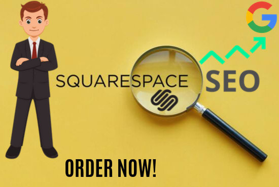 I will do squarespace website SEO service for higher google ranking