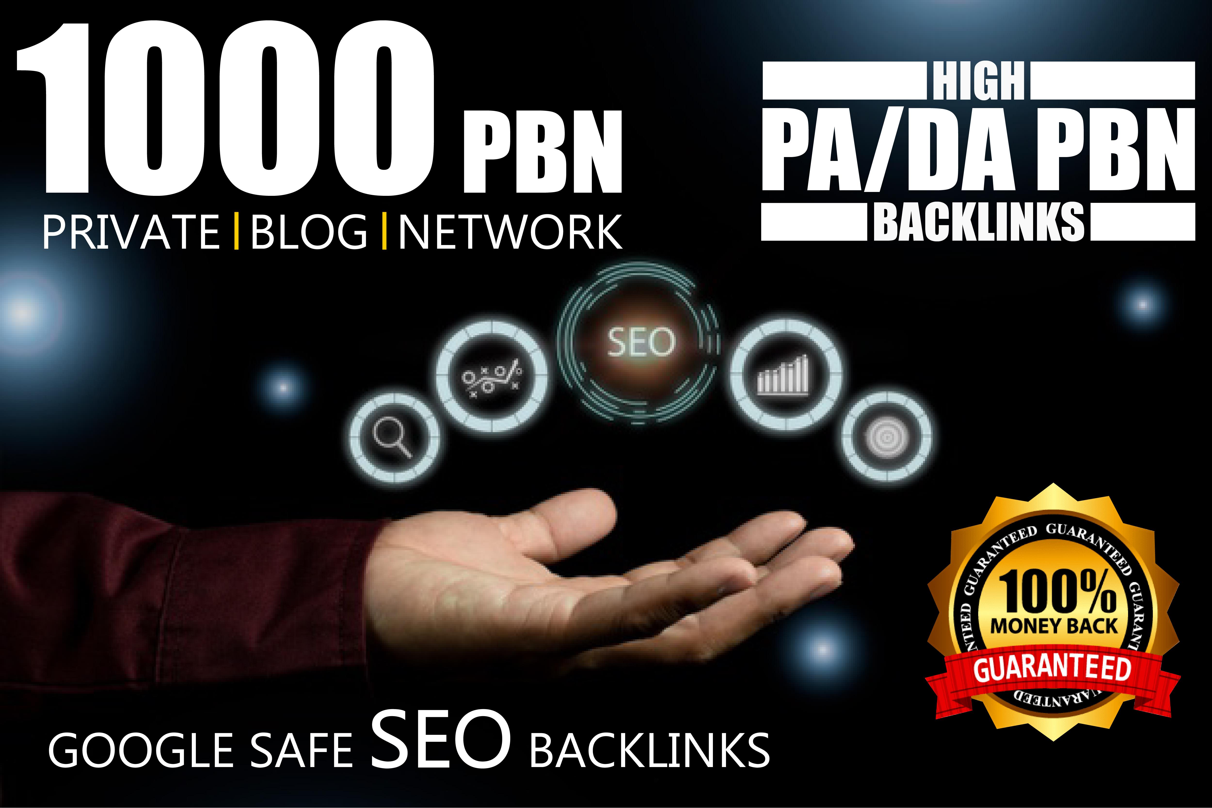 Get Powerful 1000 High Quality PBN Backlinks