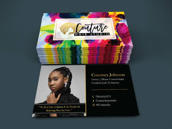 I will do business cards design