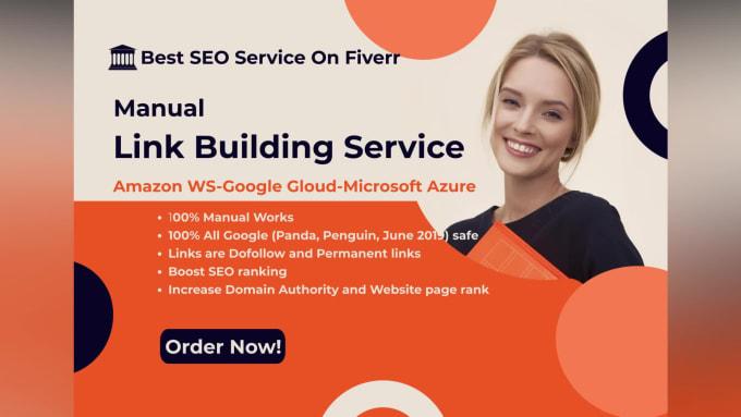 I will create 12 SEO dofollow backlinks on google,  microsoft,  amazon