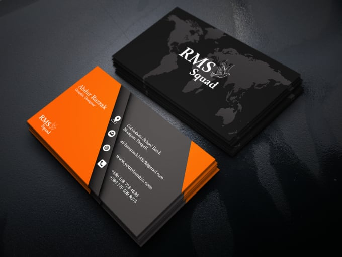 I will design unique business card,  visiting card,  name card